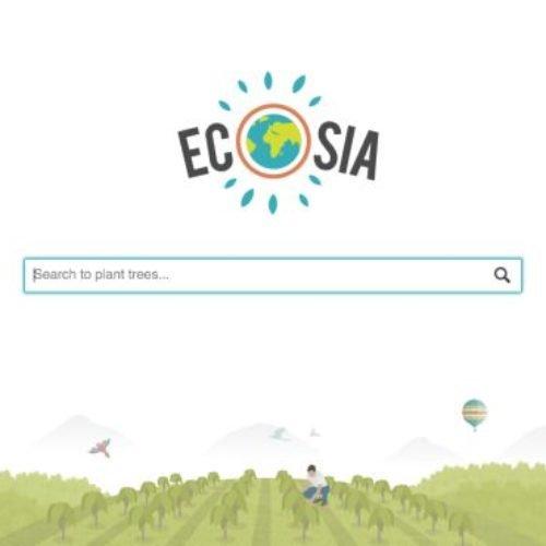 ¿Conoces Ecosia?, el buscador que planta un árbol al usarlo