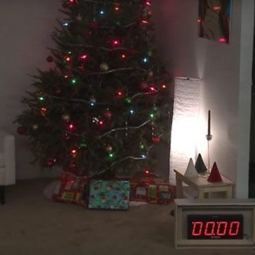 Mucho cuidado con tu árbol de navidad