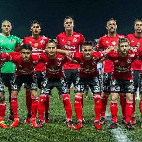 Marcador final, Club tijuana 1-2 Club Necaxa