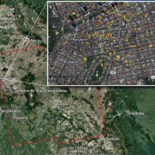 Registra la NASA cambios en el suelo del territorio mexicano por el sismo del 19-S