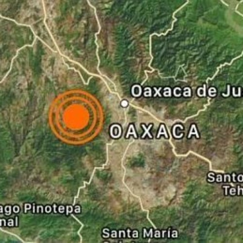 Sismo de 4.7 sacude Oaxaca