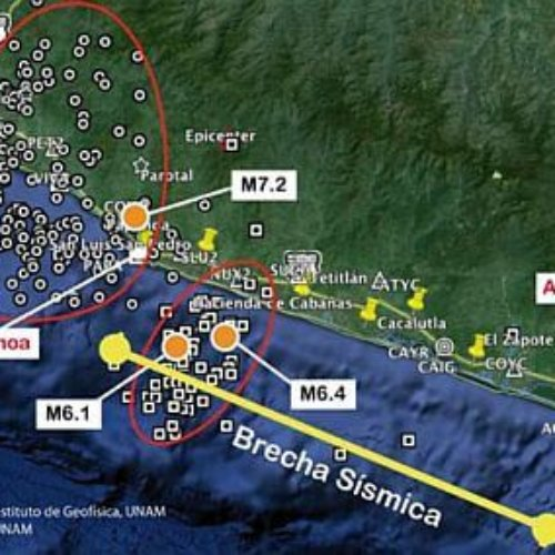 Investigan Japón y México probable sismo en la brecha de Guerrero