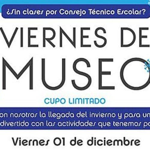 Tendremos un 'gélido' viernes de museo con invierno