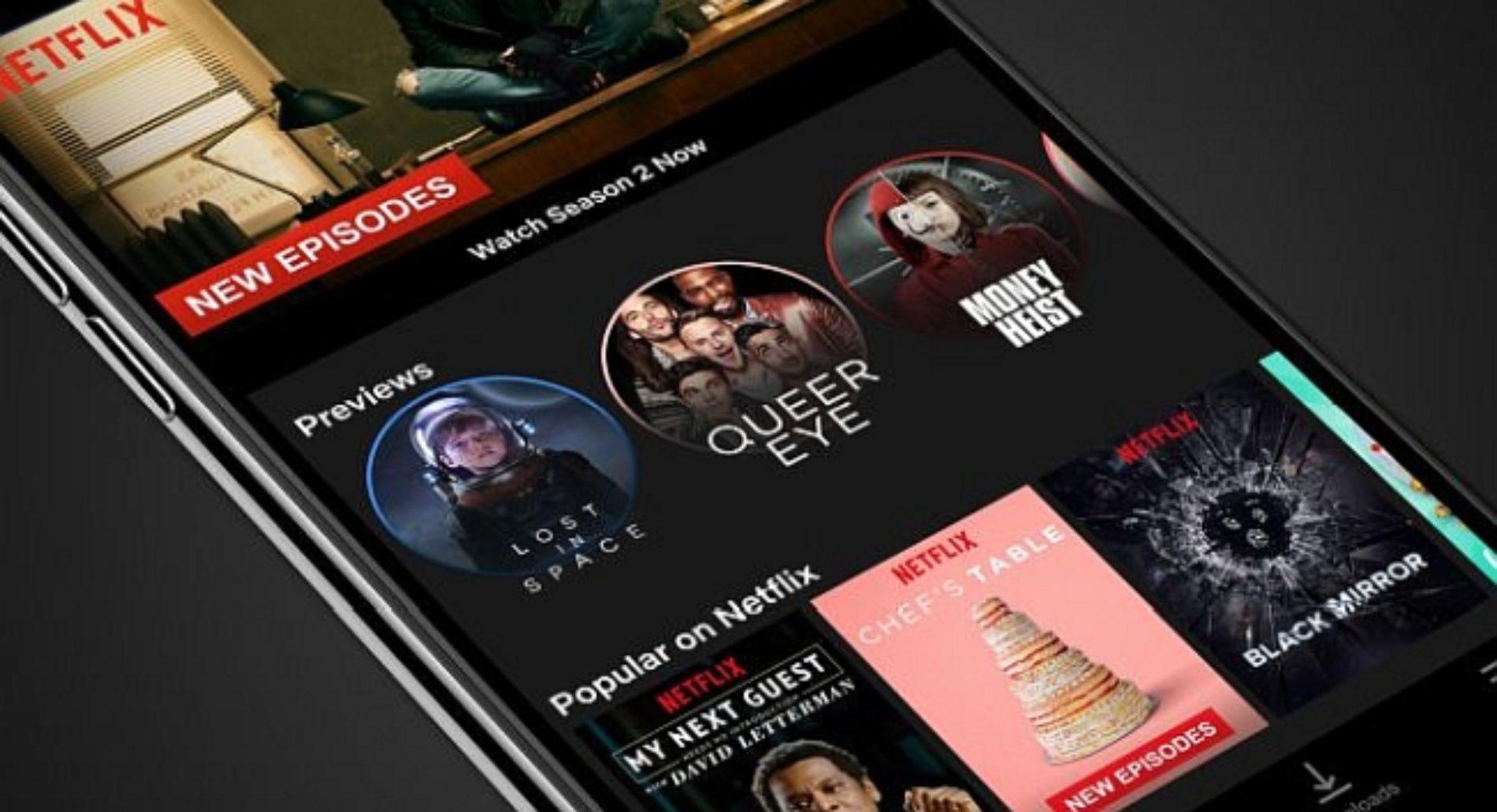 Ahora verás stories en el app Netflix a lo instagram
