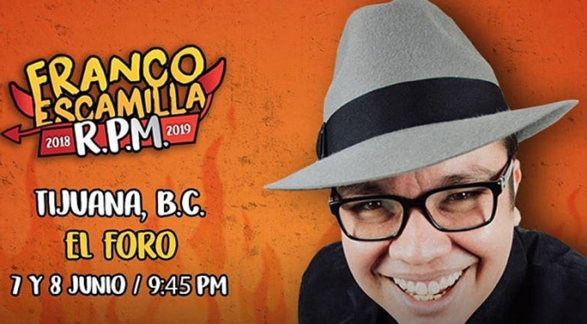 Franco Escamilla Tijuana 2018