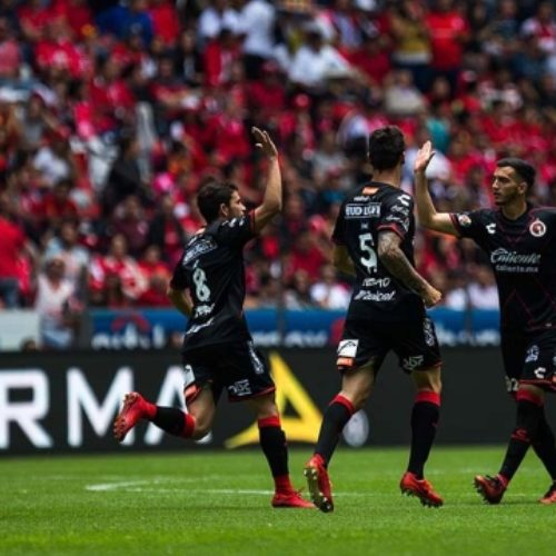 Marcador final: CD Toluca 4-1 Club Tijuana