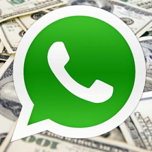 Comenzará a cobrar WhatsApp… pero sólo a algunas cuentas