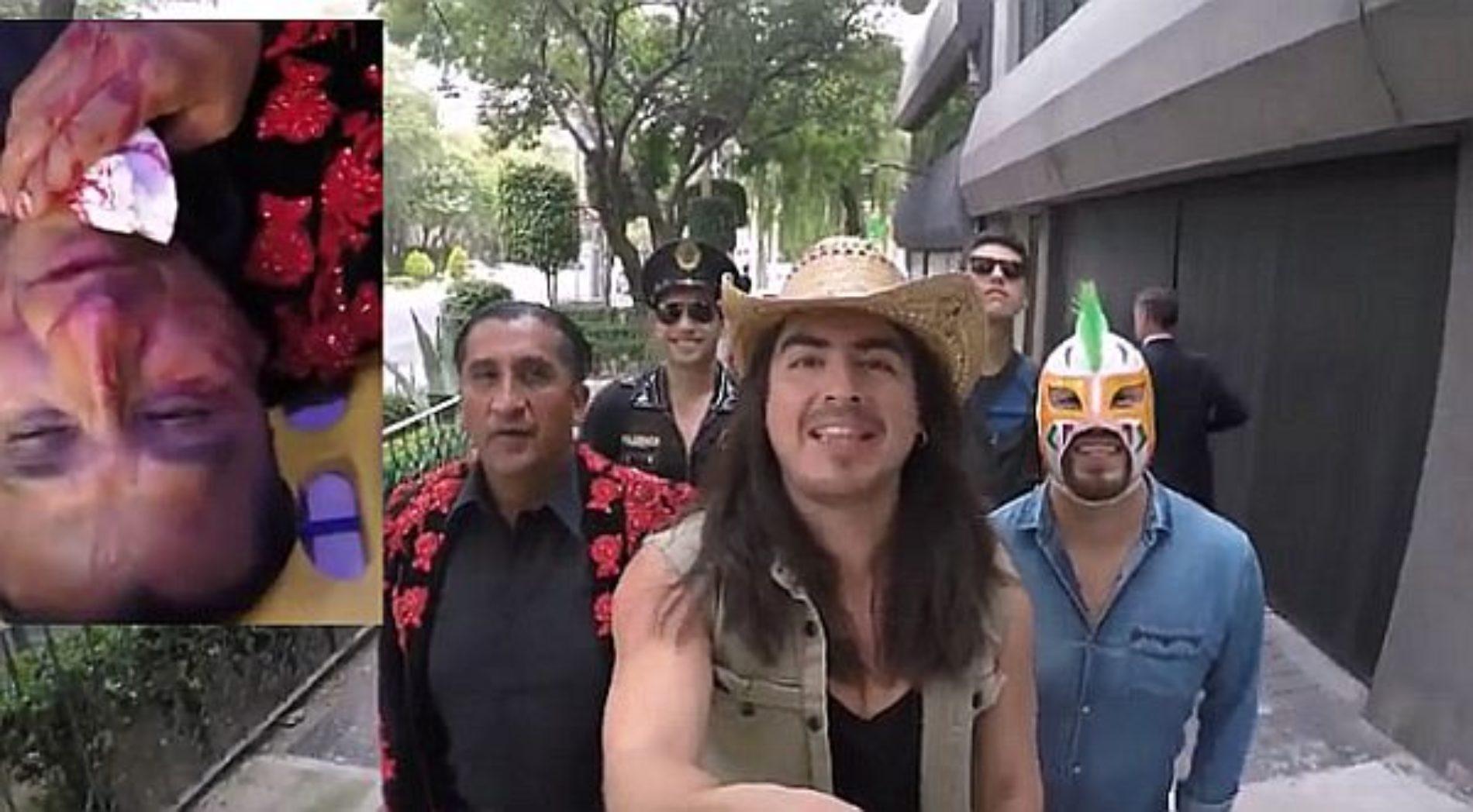 Lady Wuuu termina con la nariz rota por culpa del 'Rey Grupero'