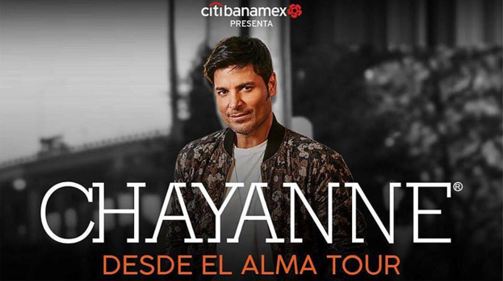 Chayanne en Mexicali este 2019