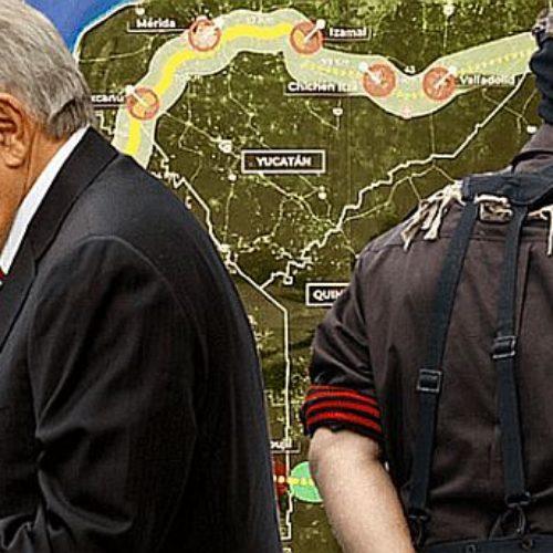 EZLN ataca a AMLO. Loco, apestoso político y mentiroso