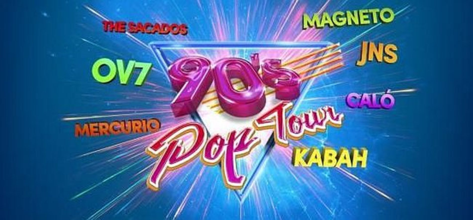 90's Pop Tour en Tijuana 2019